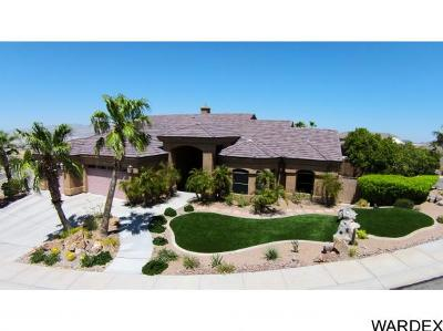 Bullhead City Single Family Home For Sale: 2905 Desert Heights Dr