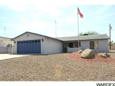 Lake Havasu City Single Family Home For Sale: 2454 Rainbow Ave N.