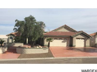 Bullhead City Single Family Home For Sale: 3465 Sunflower Drive