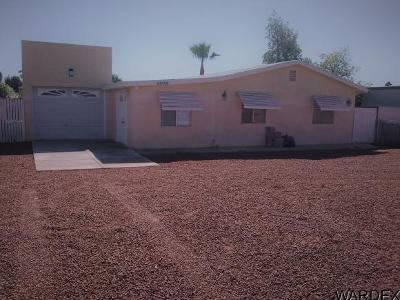 Mohave Valley AZ Single Family Home For Sale: $139,000