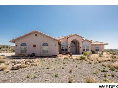 Kingman Single Family Home For Sale: 3680 Hualapai Mountain Rd