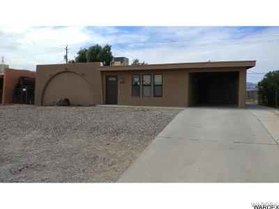 Lake Havasu City Single Family Home For Sale: 3717 Garnet Dr