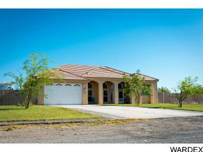 Mohave Valley Single Family Home For Sale: 2201 E Pescador Dr