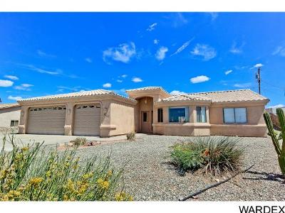 Lake Havasu City Single Family Home For Sale: 3250 Poppy Trail Dr