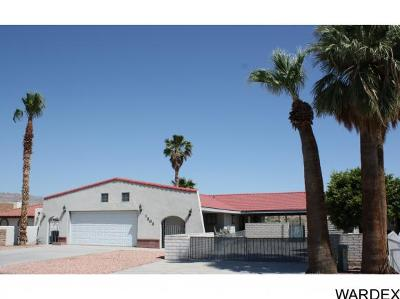Bullhead City Single Family Home For Sale: 1203 Riverfront Dr
