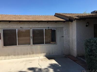 Topock/Golden Shores Single Family Home For Sale: 12837 Cortaro Dr