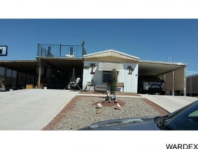 Lake Havasu City Manufactured Home For Sale: 3014 Ted Ln