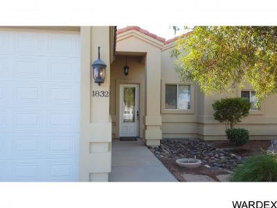 Mohave Valley AZ Single Family Home For Sale: $229,000