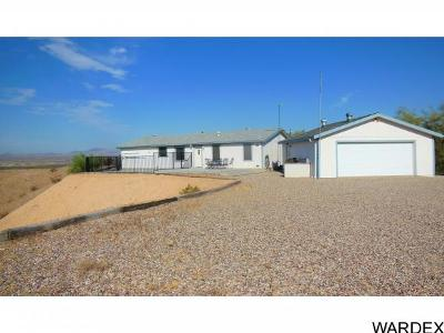 Mohave County Manufactured Home For Sale: 13496 S Hall Drive