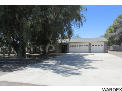 Mohave Valley AZ Single Family Home For Sale: $190,000