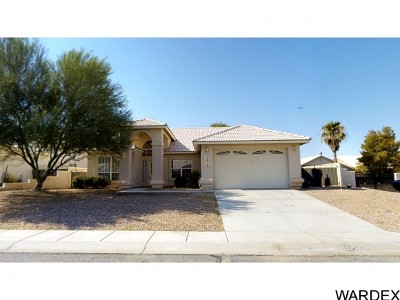 Fort Mohave Single Family Home For Sale: 1926 E Club House Plaza