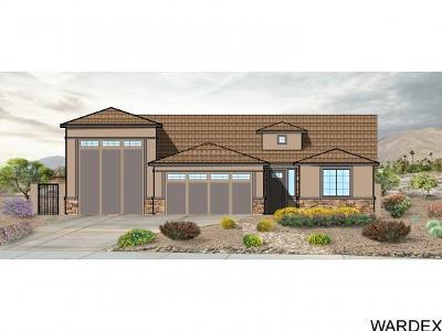 Bullhead City Single Family Home For Sale: 2621 Shoreline Cv
