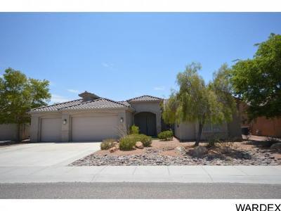 Bullhead City Single Family Home For Sale: 2590 Montano Ridge Dr