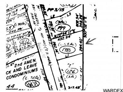 Lake Havasu City Residential Lots & Land For Sale: 3630 N Hwy 95