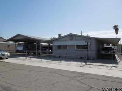 Mohave County Manufactured Home For Sale: 7826 S Whitewing Dr