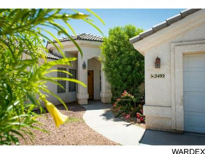 Mohave Valley Single Family Home For Sale: 2492 E Palo Verde Dr