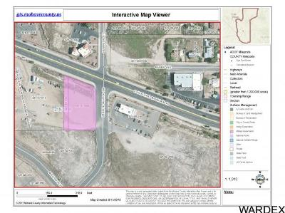 Kingman Residential Lots & Land For Sale: Lot67-68 Hualapai Mtn Road