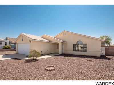 Fort Mohave Single Family Home For Sale: 2066 E Jeffrey Dr