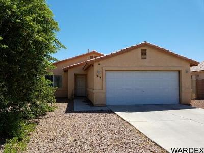 Fort Mohave Single Family Home For Sale: 4898 S Santa Evinita Rd