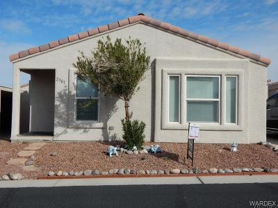 Mohave County Manufactured Home For Sale: 2301 San Lin Con Ln