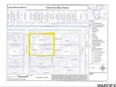 Kingman Residential Lots & Land For Sale: Tbd Northern