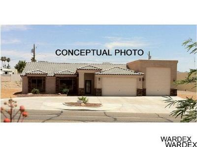 Lake Havasu City Single Family Home For Sale: Sonoma RV Model On Your Level Lot