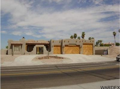 Lake Havasu City Single Family Home For Sale: Santa Fe Model On Your Level Lot