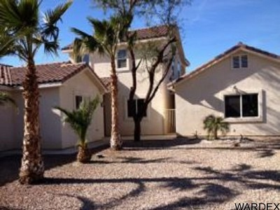 Mohave Valley AZ Single Family Home For Sale: $275,000