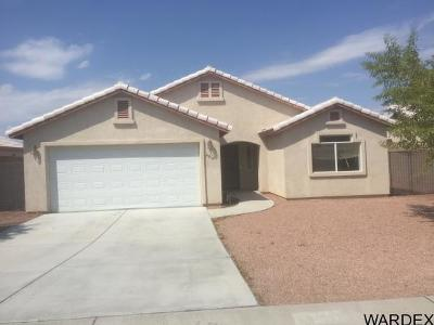 Fort Mohave Single Family Home For Sale: 4915 S Via Colinas Drive