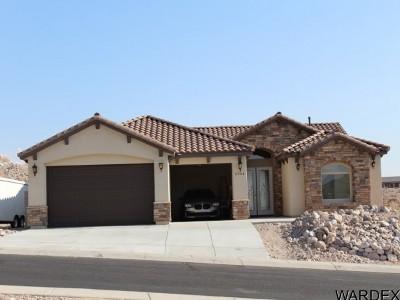 Bullhead City Single Family Home For Sale: 2904 Desert Heights Dr