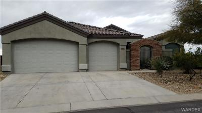Bullhead Single Family Home For Sale: 2755 Fort Mojave Drive