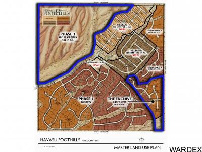 Havasu Foothills Estates Residential Lots & Land For Sale: Cherry Tree Blvd