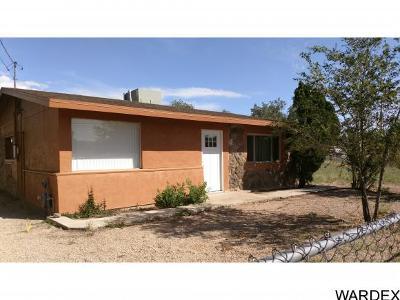 Kingman AZ Single Family Home For Sale: $110,000
