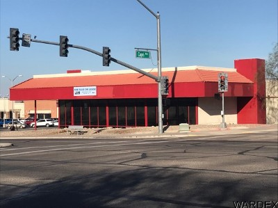 Lake Havasu City Commercial For Sale: 1769 N McCulloch Blvd N