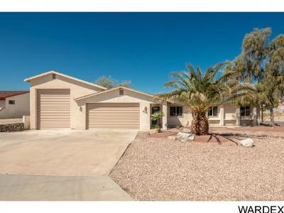 Lake Havasu City Single Family Home For Sale: 3655 Clearwater Dr