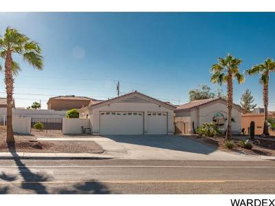 Lake Havasu City Single Family Home For Sale: 2780 Jamaica Blvd S