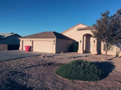 Kingman AZ Single Family Home For Sale: $190,000