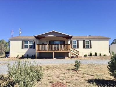 Mohave County Manufactured Home For Sale: 2790 N Diamond M Ranch Rd