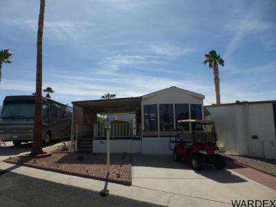 Bullhead City AZ Manufactured Home For Sale: $74,000