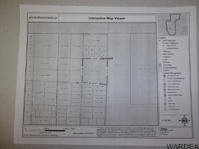 Golden Valley Residential Lots & Land For Sale: S Klondyke Rd & W. Tapeats Dr