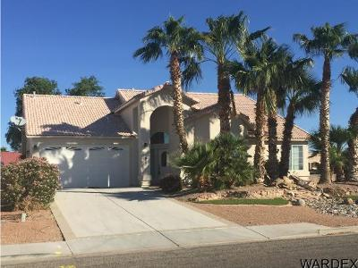 Fort Mohave Single Family Home For Sale: 1927 E Lipan Boulevard