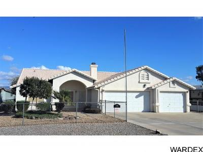 Mohave Valley AZ Single Family Home For Sale: $238,500