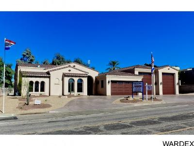 Lake Havasu City Single Family Home For Sale: Jamaica Dbl RV Model