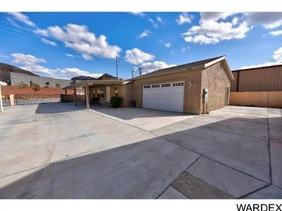 Parker Strip Manufactured Home For Sale: 3058 N Parker Dam Rd