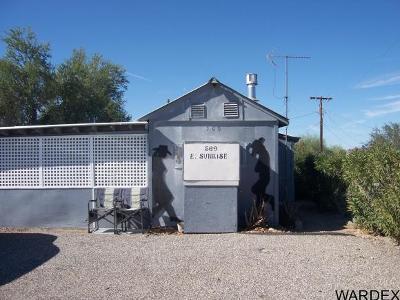 Quartzsite Single Family Home For Sale: 509 E. Sunrise