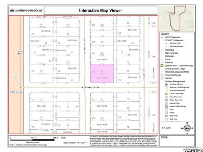 Mohave County Residential Lots & Land For Sale: 8810 S Desoto Drive