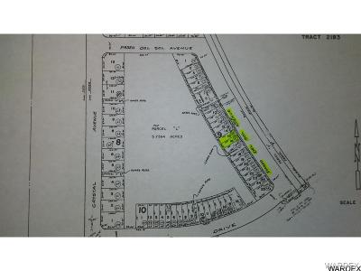 Lake Havasu City Residential Lots & Land For Sale: 141&145 Paseo Del Sol Ave
