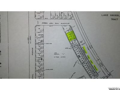 Lake Havasu City Residential Lots & Land For Sale: 183 Paseo Del Sol Ave