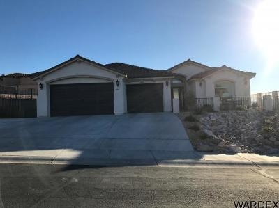Bullhead City Single Family Home For Sale: 2919 Lakeview Dr