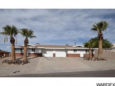 Lake Havasu City Multi Family Home For Sale: 3189 Desert View Ct